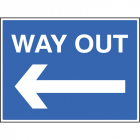 Way out <---