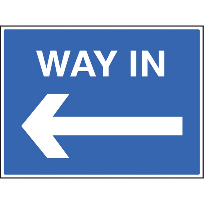Way in <---