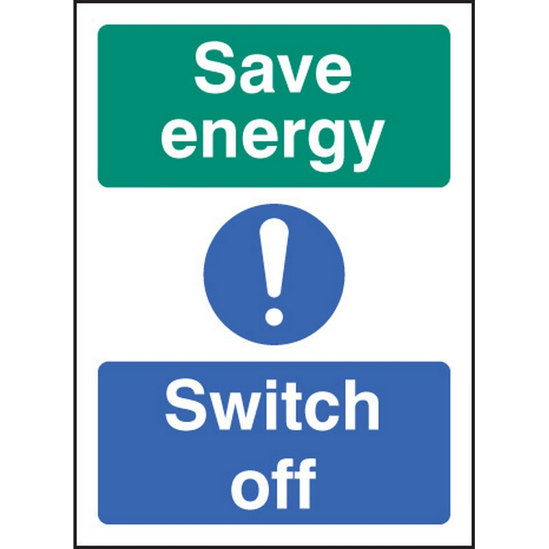 Save energy switch off