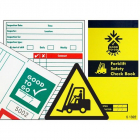 Good to go safety forklift check book
