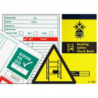 Good to go safety racking check book