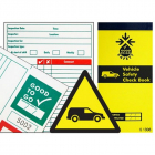 Good to go fleet vehicle safety check book