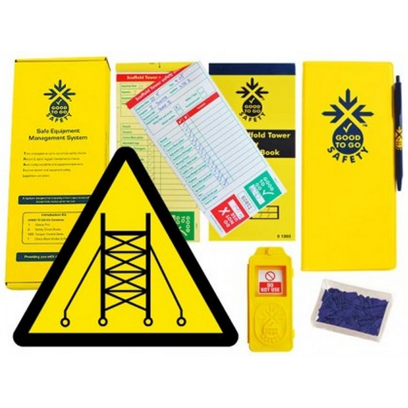 Good to go safety scaffold tower weekly kit