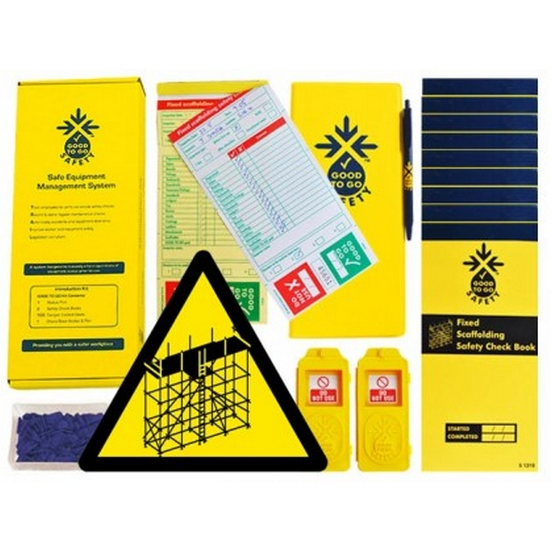 Good to go safety fixed scaffold daily kit