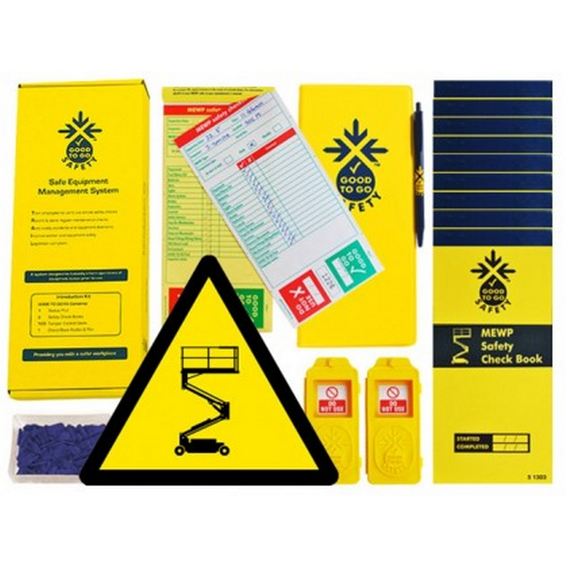 Good to go safety MEWP daily kit