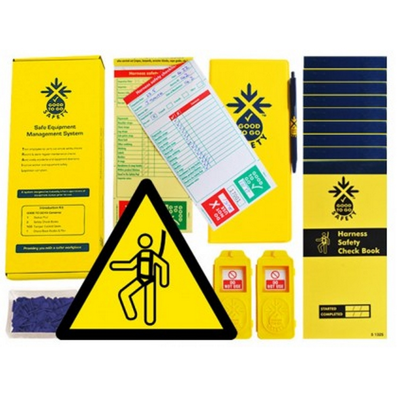 Good to go safety harness daily kit