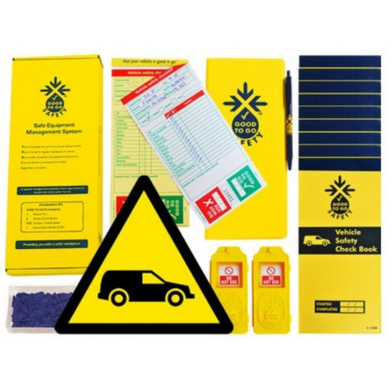 Good to go fleet vehicle safety daily kit