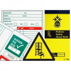 Good to go safety podium steps check book