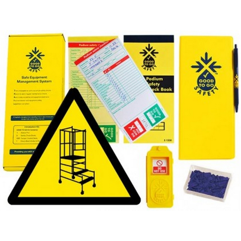 Good to go safety podium steps weekly kit