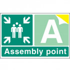 Special Assembly point rigid plastic 600x400mm