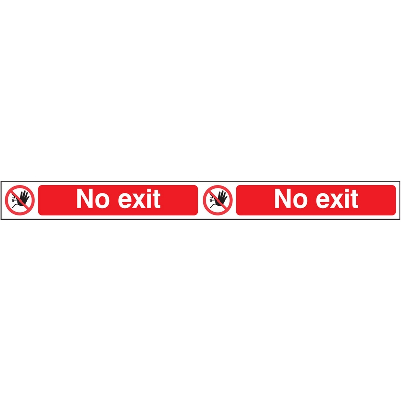 No exit step strip 400x35mm