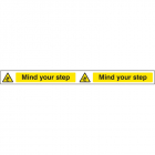 Mind your step strip 400x35mm