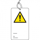 ! double sided safety tags (pack of 10)
