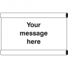 Design Your Own Banner c/w loops 1270x610mm