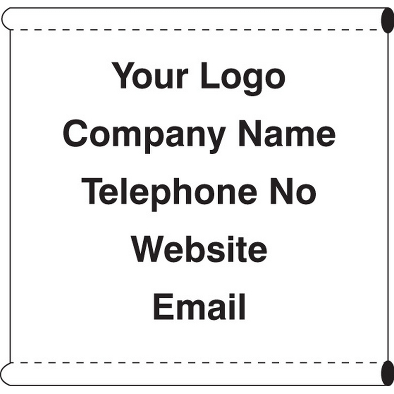 Scaffold Company Banner (c/w loops)