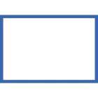 Blank Adapt-a-sign - Blue Border 215x310mm