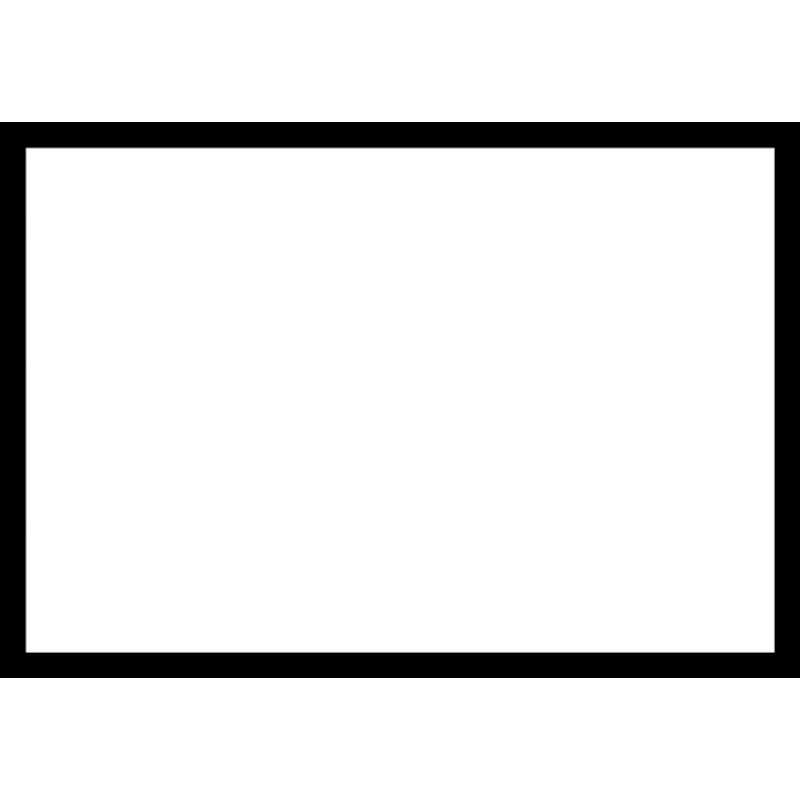 Blank Adapt-a-sign - Black Border 215x310mm