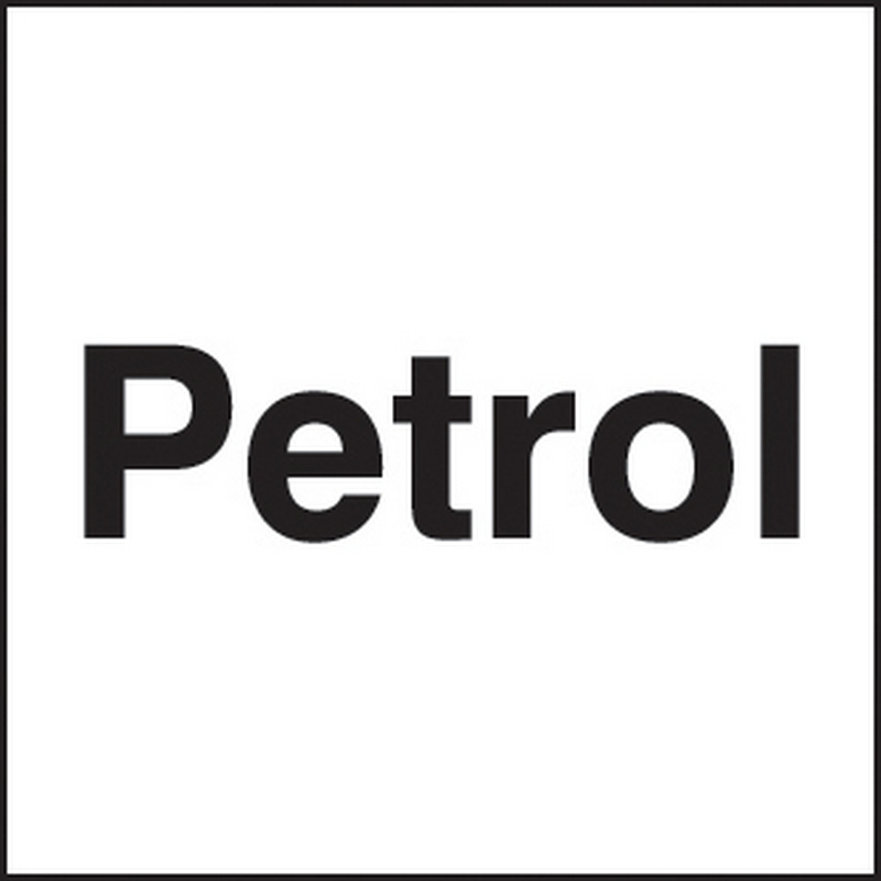 Petrol 25x25mm self adhesive
