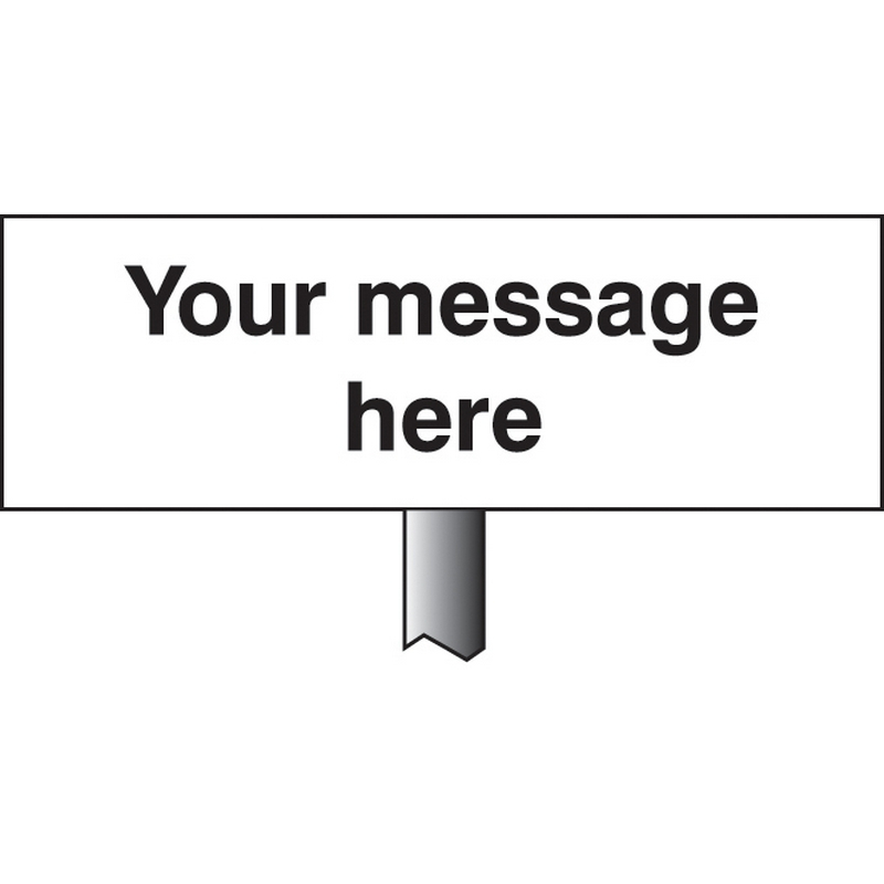Verge sign - Your message here