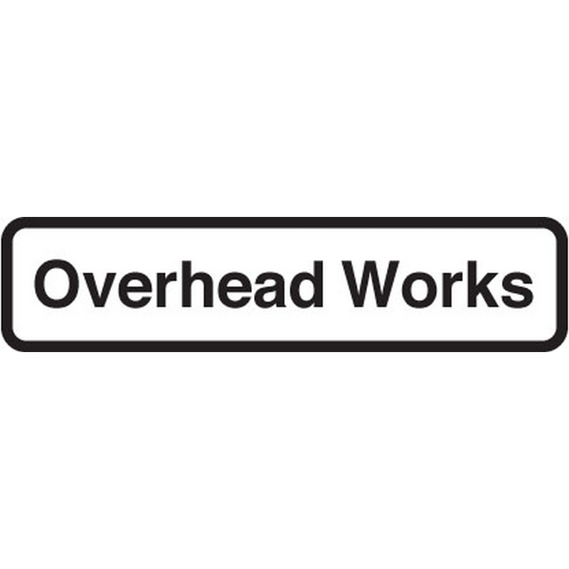 Overhead works fold up supplementary text