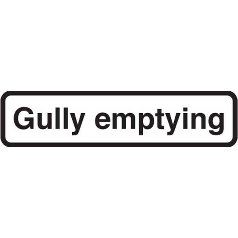 Gully emptying fold up supplementary text