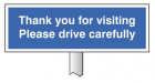 6589 Verge sign - Thank you for visiting Plea...