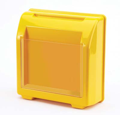 Suggestion Box, yellow, 275x275x100mm