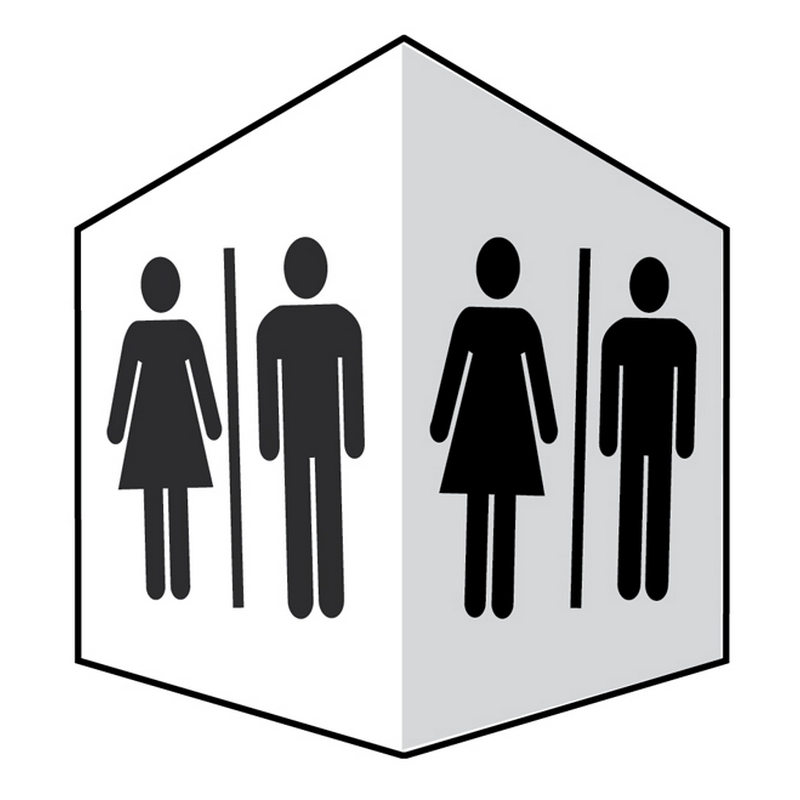 Toilets - Easyfix Projecting Signs