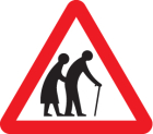 Elderly/disabled pedestrians class R2 600mm