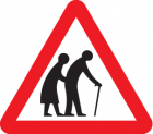 Elderly/disabled pedestrians class RA1 600mm