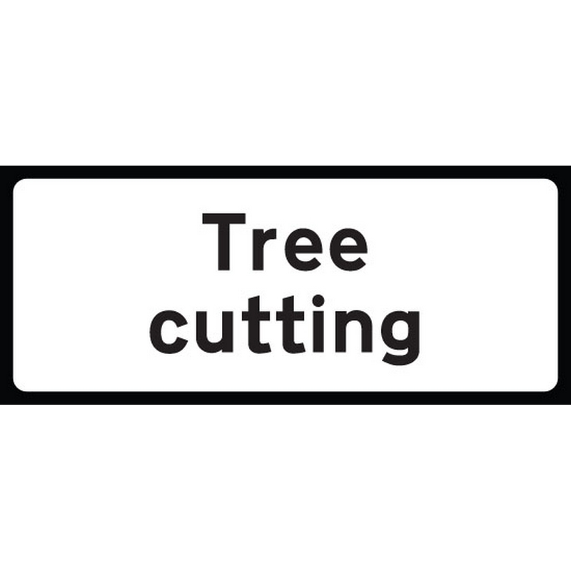 Tree cutting supp plate 850x355 Class RA1 zintec