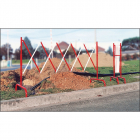 Extending safety barrier (3m x 1m)
