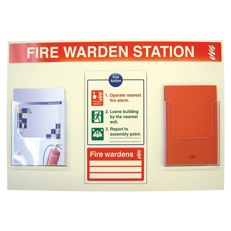 Fire warden station