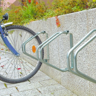 Single Wall Mounted Cycle Rack (HxWxD): 335x90x285mm