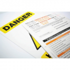 Permit to Work: Hazardous Substances (Pack of 10, 3part NCR)