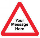 Your message here 600mm triangle Class RA1 zintec