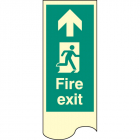 Door plate - fire exit right photo