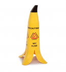 Banana Wet Floor Cone (English, German, Spanish) HxWxD: 600x300x300mm