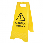 Caution wet floor (free-standing floor sign)