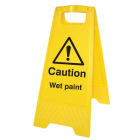 Caution wet paint (free-standing floor sign)