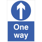 One way floor graphic 400x600mm