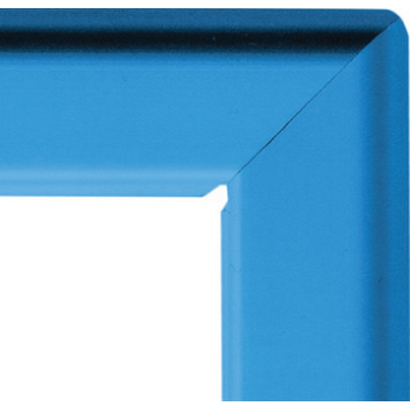 A2 25mm snap frame - dark blue