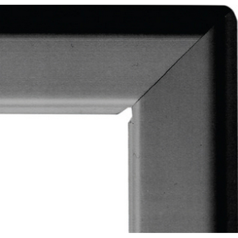 A4 25mm snap frame - black