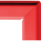 A1 25mm snap frame - red