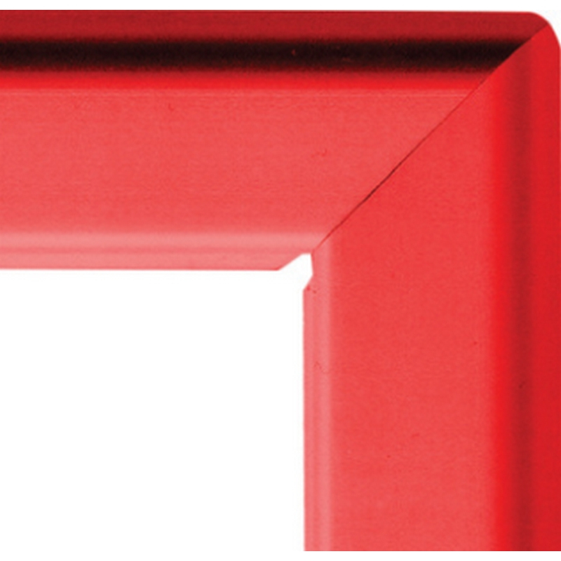 A4 25mm snap frame - red