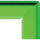 A4 25mm snap frame - green