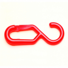 Attachment Nylon S-Hook Attachment for chains - Red