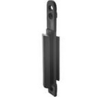 Wall fixing bracket for retractable barrier posts