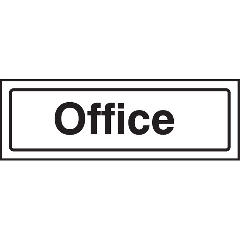 Office visual impact sign