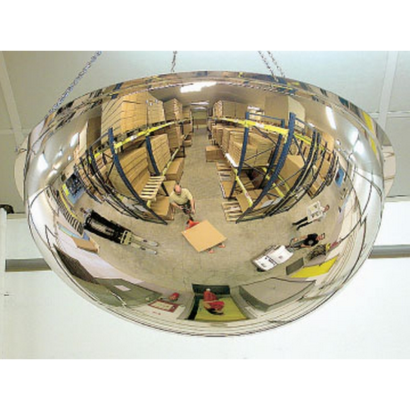 Full Dome Mirror (600dia 360deg) to view 4 directions